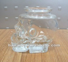 Promotional candle holders wholesale skull glass candle jar
