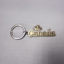 fashion custom metal name keychain