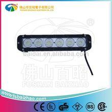 Brighter than HID bulb xenon bulb 60w single row china factory light bars