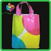Yiwu China custom printed cheap pe plastic bag with handle
