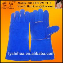 cow split safety welding leather work gloves
