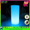 led cylinder round color changing mood light for decking
