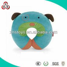 2014 cute soft plush stuffed Promotional Gift Neck Pillow Animal