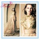 HD2002 Arabic Lebanese Designer Ziad Nakad's Spring-Summer 2014 Tulle Evening Dress Latest Fashion