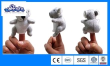 plush Austrilia animal koala finger puppet for children hotsale