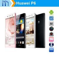 "4.7"" Huawei Ascend P6 U06 Original Phone 1.5GHz Quad Core Android 4.2 Cell Phones 2GB RAM 8GB ROM WCDMA Huawei Phone"