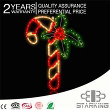 2D led christmas figures / 3D christmas 220V halloween decoration rohs motif lamp