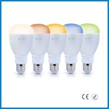 UL certificated new lighting product iphone control music flash Bluetooth e12 4.5w led bulb light