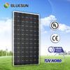 A grade Bluesun brand factory supply high efficiency monocrystalline 300w panels solar 24v