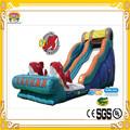 popular juego inflable gigante de diapositivas inflables del agua para adultos 2014