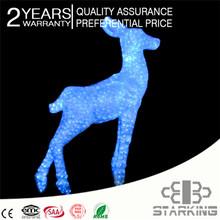 2D led christmas figures / 3D christmas 220V waterproof rohs motif lamp