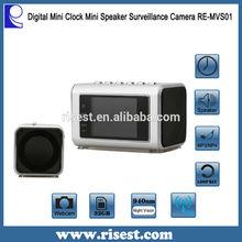New Designed Wireless Hidden Camera Clock Video Hidden Security Cameras for Home RE-MVS01
