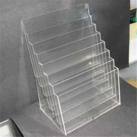 the top Wall Mount / Free Standing in Clear, Black, or White