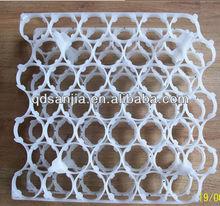 Alta qualidade colorido de plástico para incubação forma de plástico bandeja de ovos incubadora transporte ovo tureing bandeja / caixa