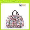 wholesale cheap print ladies 600D polyester duffel bag