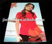 promotional folded leaflet printed, samples leaflet brochure printing factory