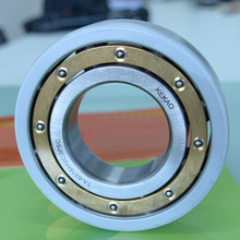 Large size ceramic coating ball bearings , used to instead plastic ball bearings , made in China bearing factory