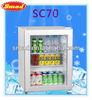 High Quality Glass Door Table Mini Refrigerator Showcase