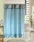 72'' * 72'' Russia design polyester curtain / 90gsm shiny polyester curtain / Fancy shower curtain