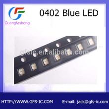 hot sale 0402 Blue LED