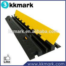 100% rubber & PVC material wheel stopper