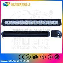 2014 New Automobile light accessory 120w single row auto led driving light bar For Australia Market