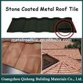 Wholesale factory farbe stein beschichtetem metall dachziegel, winkel firststein, Seite blinkt
