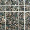PA3052A 45*45 New Zealand Paua shell club table mosaic tile
