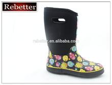OEM service new cheap neoprene rubber rain boots