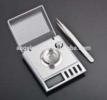 Pocket 20g x 0.001g Mini Digital Jewelry Diamond Gold Gram Balance Weight Scale