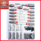 Screwdriver set 30PCs with 8 Hex Keys , 6 PC precision screwdrivers and one nut screwdriver