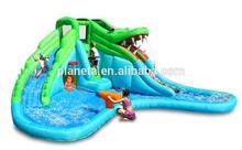 crocodile banzai inflatable water slide