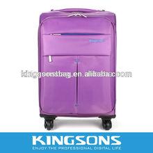purple travel bag,bag trolley luggage ,laptop trolley case
