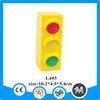 Eco-friendly PU foam plastic traffic light toy