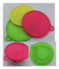 best selling non-stick silicone microwave suction cover, bowl lid