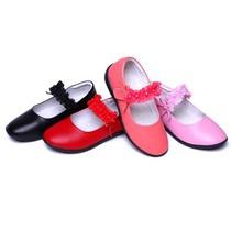 TS2090 hefei zhijing korea new style of 205 princess shoes leather elegant dress shoes for girls