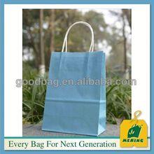 luxury paper shopping bag 25kg kraft paper bag paper made in china