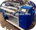 Doppio asse di carta ricevuta atm macchina di taglio/termico rotolo di carta taglierina ribobinatrice