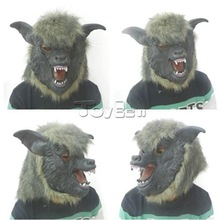Wolf Head mask for Halloween Custom Crazy Party Mask Wholesale Halloween costumes in China