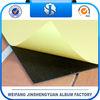 Black rigid or foam pvc album sheets with self-adhesive