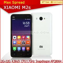 Cheap sale Xiaomi mi2s mobile phone WCDMA 3G 4.3inch 8MP Camera manual wifi mobile phones