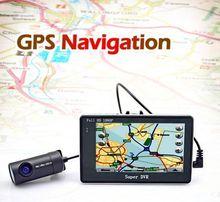 Newest factory wholesale 4.3inc Anti-theft GPS G-sensor wifi car journey recorder