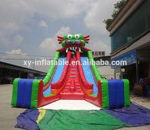 Guangzhou inflatable dragon slide/ inflatable giant dragon slide