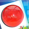 2014 Hot Sale Hollow Natural Rubber Ball Kids Bouncing Hollow Plastic Balls