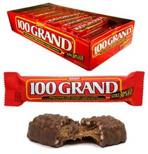 NESTLE $100 GRAND BAR 36 CT / Nestle Wonka USA Chocolates and Candies