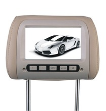 2014 hot selling 7 car back seat lcd monitor TFT LCD monitor with TV function XM729