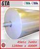 45micron transparent bopp box packing adhesive tape for corrugated carton sealing