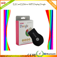 New arrival smart phone/TV/ tablet Ezcast M2 wirless WIFI display USB dongle with 1080p HDMI
