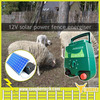 Europe type 230V solar power electric fence for sheep with solar panel and battery