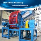 automobile car truck tire tyre rubber bumper shredder grinder crusher cutting machine recycling line